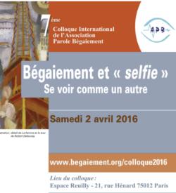 Bégaiement et selfie
