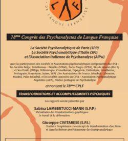 78ème congrès CPLF